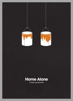 Home Alone by Jamie Bolton --- A great minimalist movie poster is like an inside joke. You have to see it to get it. This is a great one by Jamie Bolton.  http://minimalmovieposters.tumblr.com/post/1255528161/home-alone-by-jamie-bolton