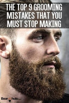 Top 9 Grooming Mistakes that You Must Stop Making