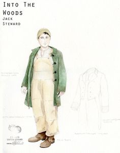 Into the Woods (Jack/Steward). McCarter Theatre/Old Globe/Roundabout Theatre. Costume design by Whitney Locher.