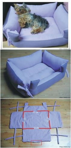 - 20 Easy DIY Dog Beds and Crates That Let You Pamper Your Pup {With tutorial links} If you're a pet lover, I've got a treat for you. I've collected a few different DIY pet beds that you can totally make in just a few hours – some of them won't even Diy Pet, Diy Cat Bed, Pet Beds Diy, Dyi Dog Bed, Pet Beds For Dogs, Pet Dogs, Cute Dog Beds, Puppy Beds, Doggies