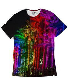 RUKES Rainbow Palms Men's Tee