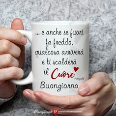 Frase del buongiorno e foto Italian Memes, Italian Quotes, Morning Coffe, Good Morning, New Years Eve Party, Good Mood, Love Quotes, Mugs, Short Messages