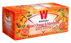WISSOTZKY Blood Orange & Mandarin - NEW, 1.76-Ounce Boxes (Pack of 6) - http://mygourmetgifts.com/wissotzky-blood-orange-mandarin-new-1-76-ounce-boxes-pack-of-6/