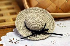 Minis Straw Hat Crochet