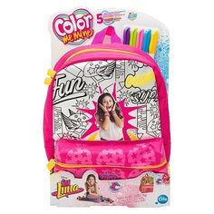 Soy Luna - Color Me Mine - Bolsa Patins Sequeen