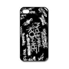 Custombox My Chemical Romance Iphone 4/4s Case Plastic Hard Phone Case... ($12) ❤ liked on Polyvore featuring accessories, tech accessories, phone cases, phone, band merch, iphone cases, iphone cell phone cases, iphone cover case, iphone case and apple iphone cases