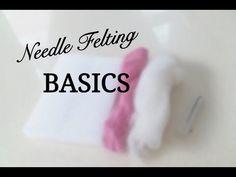 Needle Felting Animals - Felt Fox Tutorial for Beginners / Intermediate by Apulina - YouTube