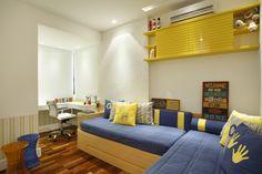 Quarto compartilhado - RBB arquitetura de interiores