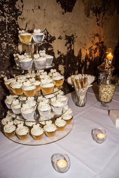 our engagement cupcakes & stick cookies