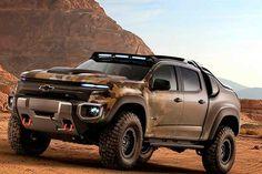 A GM americana, em parceria com o Exército dos Estados Unidos, está desenvolvendo uma picape Colorado (nossa S10) movida a célula de combustível. Leia mais...