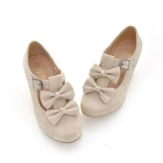 I joined @Sammydress Fall Wardrobe # Contest! http://pinterest.com/pin/339881103097713073/ $18.67 Hot Sale New Arrival Sweet Style Bowknot and Buckle Embellished Shoes For Female