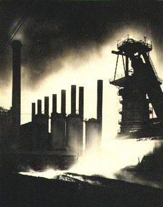 {Restless Spirits of Sloss Furnace - Birmingham, Alabama} Undoubtedly, one of he most haunted places in the state of Alabama, the Sloss Furnaces in Birmingham now abandoned as a former steel making facility has been the subject of many paranormal investigations.