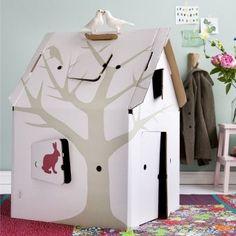 tipi pour une chambre d'enfant DIY tente en carton