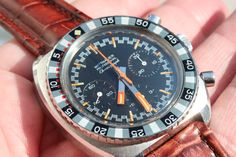 Wittnauer Chronograph with Valjoux 72.
