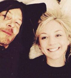 """Emily Kinney and her handsome co-star, Norman Reedus, have fans in a tizzy over their rumored new romance. Diehard fans of """"The Walking Dead"""" are jumping for joy over the news of Emily and Norman's relationship!"""