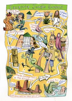 Jungle Garden Fun Map