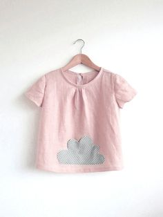 little cloud pocket top by swallowsreturn on Etsy