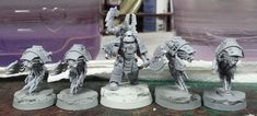 Mordian 7th Regiment: Heresy Era Thousand Sons - Damocles Command Rhino and Techmarine, and some GenCon goodies!