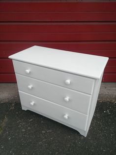 Finished - Furniture Restoration - By Upcycle Interiors ltd Set Of Drawers, Simple Furniture, Furniture Restoration, White Paints, Building Design, Natural Wood, Upcycle, It Is Finished, Interiors