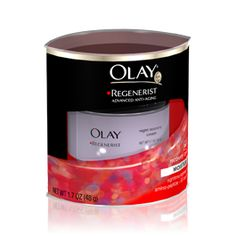 Olay Night Regenerist Cream -- I LOVE this stuff. I've been using it for a year now and swear by it!