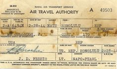 old plane tickets - Google Search