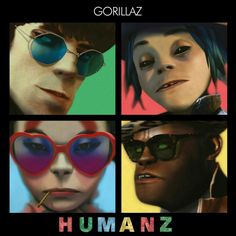 After six years the Gorillaz released their long awaited 6th album, Humanz in April 28, 2017. The characters keep mesmerizing me, 100% awesomeness!
