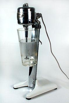 antique milkshake machine