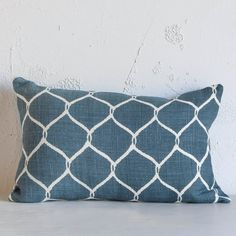 Jaal Cushion Blue Cushions For Couchblue