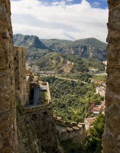 View from the castle of Santa Severina (KR), Calabria
