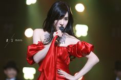 SNSD Tiffany #red