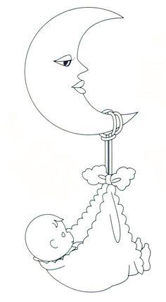 desenhos riscos pintura decoracao fraldas bebe (7):