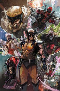 BENDIS! - westcoastavengers:   Wolverine & Villains   Peter...