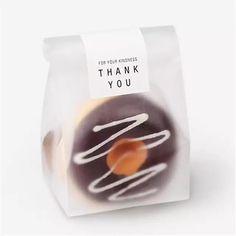 28b0ac794c 20pcs lot Translucent packaging bag plastic bags pouches wrappers cupcake  8.5x22.5cm Plastic