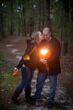 Fall engagement pics! (Credit: Mike Sperlak Photography)