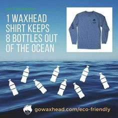 Our shirts are made from 100% recycled material  more eco-friendly than organic cotton or bamboo (and just as soft and comfy). http://ift.tt/2iBc7Dn - http://ift.tt/1HQJd81