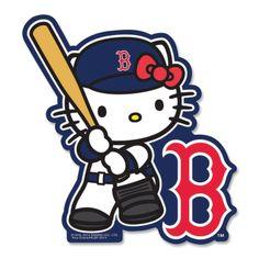 Boston Red Sox Hello Kitty Batter Decal Sticker, $5 via Shop.MLB.Com
