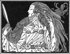 harry clarke's fairy tale illustrations.