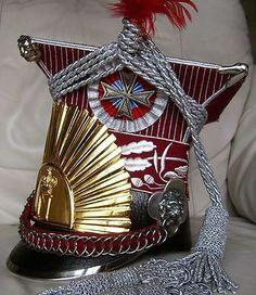Napoleonic Polish 1-st guard lancer chevauxleger marshal czapka