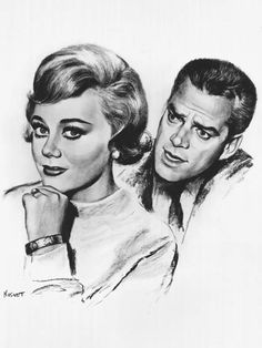 Glynis Johns & Keith Andes in Glynis CBS) — Short-lived series starring Johns as a mystery writer and Andes as her husband, a successful criminal defense attorney. Together they would solve crimes. Glynis Johns, Criminal Defense, Tv Land, Vintage Ads, Bing Images, Crime, Mystery, Surfing, The Past