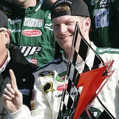 Dale Earnhardt, Jr.  That's right Jr......you are #1 in my book! <3