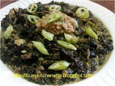 Chili Tuna Laing ~ Pinoy Kitchenette
