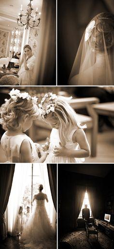 Beautiful - love the flower girls!