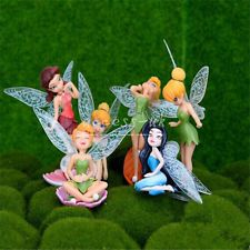 Flower Fairy Pixie Women Fly Wing Family Miniature Dollhouse Garden Ornament for sale online Fairy Garden Ornaments, Flower Ornaments, Ornament Crafts, Lawn Ornaments, Small Figurines, Fairy Figurines, Miniature Figurines, Garden Decor Items, Garden Crafts