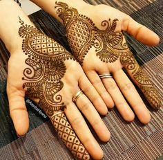 Explore latest Mehndi Designs images in 2019 on Happy Shappy. Mehendi design is also known as the heena design or henna patterns worldwide. We are here with the best mehndi designs images from worldwide. Latest Arabic Mehndi Designs, Indian Mehndi Designs, Henna Art Designs, Modern Mehndi Designs, Mehndi Designs For Beginners, Wedding Mehndi Designs, Mehndi Designs For Fingers, Latest Mehndi Designs, Mehandi Designs