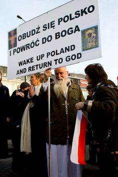Varsavia, manifestazione nel giorno dell'indipendenza. 2012
