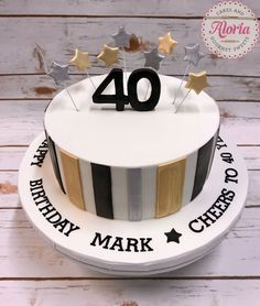 27 Elegant Picture Of 40Th Birthday Cakes For Men