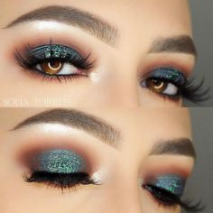 When it comes to smokey eye for brown eyes, the sky is the limit. You can play with any color you like, switch and experiment with the ways of application, in fact, anything you want!#makeup #makeuplover #makeupjunkie #smokyeyes