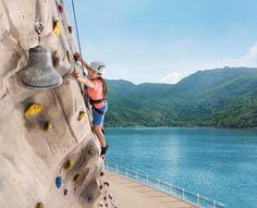 Rock Climbing on a Cruise Ship with Royal Caribbean International