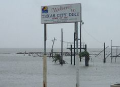 Texas city Dike after Ike  2008