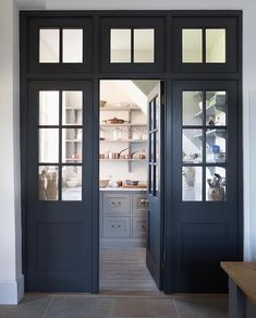 Pantry Room, Kitchen Organization Pantry, Walk In Pantry, Kitchen Pantry, Pantry Ideas, Larder Cupboard, Prep Kitchen, Closet Ideas, Pantry Design
